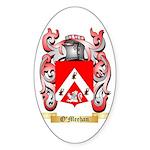 O'Meehan Sticker (Oval 10 pk)