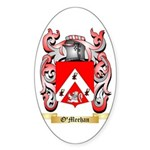 O'Meehan Sticker (Oval 50 pk)