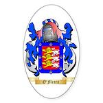 O'Meara Sticker (Oval 50 pk)