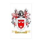 O'Mannin Sticker (Rectangle 10 pk)