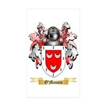 O'Mannin Sticker (Rectangle 50 pk)