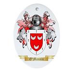 O'Mannin Oval Ornament