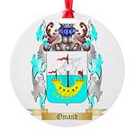 Omand Round Ornament