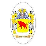 O'Malley Sticker (Oval 50 pk)