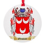 Olyphant Round Ornament
