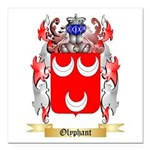 Olyphant Square Car Magnet 3