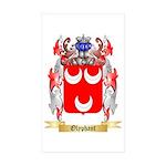 Olyphant Sticker (Rectangle 10 pk)