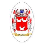 Olyphant Sticker (Oval)