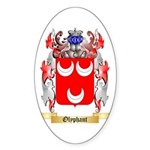 Olyphant Sticker (Oval 10 pk)