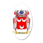 Olyphant 20x12 Oval Wall Decal