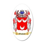 Olyphant 35x21 Oval Wall Decal