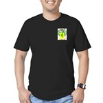 Olvera Men's Fitted T-Shirt (dark)