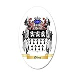 Olver 20x12 Oval Wall Decal