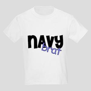 Navy brat Kids Light T-Shirt