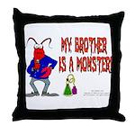 Monster! (Lobster) Throw Pillow