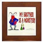 Monster! (Lobster) Framed Tile