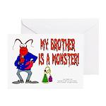 Monster! (Lobster) Greeting Cards (Pk of 10)