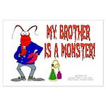Monster! (Lobster) Large Poster