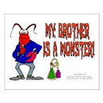 Monster! (Lobster) Small Poster