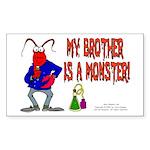 Monster! (Lobster) Rectangle Sticker
