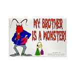 Monster! (Lobster) Rectangle Magnet (100 pack)