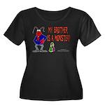 Monster! (Lobster) Women's Plus Size Scoop Neck Da