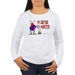 Monster! (Lobster) Women's Long Sleeve T-Shirt