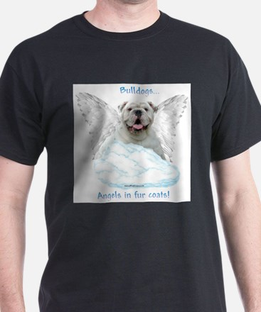 Cute Bulldog angel T-Shirt