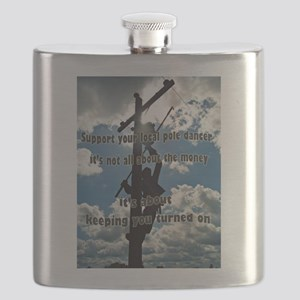 Support your Lineworker Flask