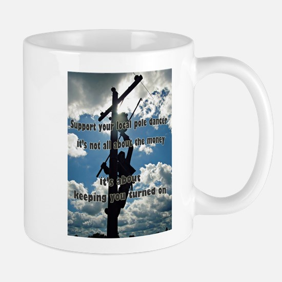 Support your Lineworker Mugs