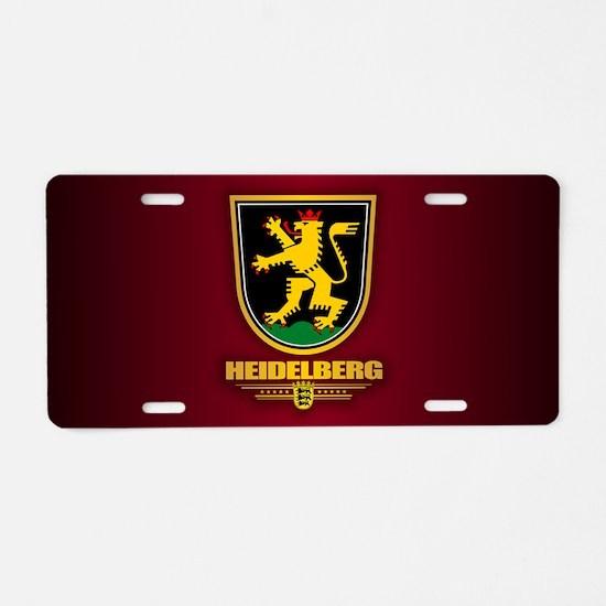 Heidelberg Aluminum License Plate