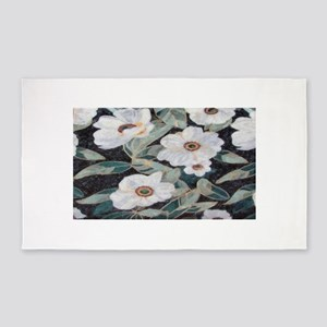 Floral Mosaic Area Rug