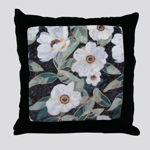 Floral Mosaic Throw Pillow