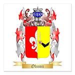 Olsson Square Car Magnet 3
