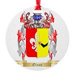 Olson Round Ornament