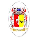Olson Sticker (Oval 10 pk)