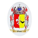 Olson Oval Ornament