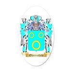 Olorenshaw Oval Car Magnet