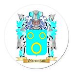 Olorenshaw Round Car Magnet