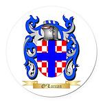 O'Lorcan Round Car Magnet