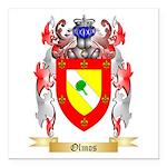 Olmos Square Car Magnet 3