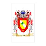 Olmos Sticker (Rectangle 10 pk)