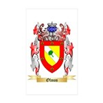 Olmos Sticker (Rectangle 50 pk)