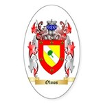 Olmos Sticker (Oval 10 pk)