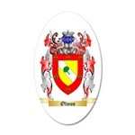 Olmos 20x12 Oval Wall Decal