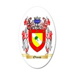 Olmos 35x21 Oval Wall Decal