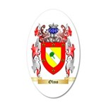 Olmo 35x21 Oval Wall Decal