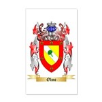 Olmo 35x21 Wall Decal