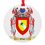 Olmi Round Ornament