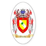 Olmeda Sticker (Oval 50 pk)